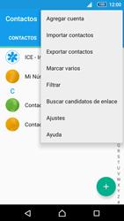 Sincronizar contactos con una cuenta Gmail - Sony Xperia Z5 Compact - Passo 7
