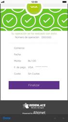 Recarga con tarjeta de crédito/débito - iOS VIVA APP - Passo 10