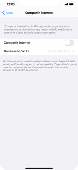 Configurar para compartir el uso de internet - Apple iPhone 11 - Passo 4