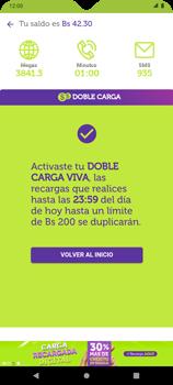 Doble Carga - Android VIVA APP - Passo 6