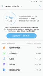 Liberar espacio en el teléfono - Samsung Galaxy A3 2017 (A320) - Passo 5