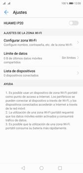Configurar para compartir el uso de internet - Huawei P20 - Passo 9