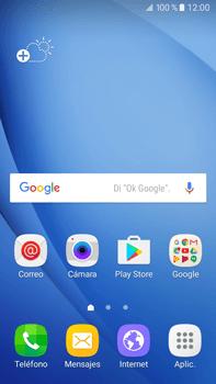 Sincronizar contactos con una cuenta Gmail - Samsung Galaxy J7 2016 (J710) - Passo 1