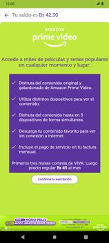 Suscripción de Amazon Prime por VIVA APP - Android VIVA APP - Passo 6