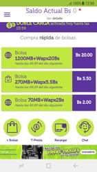 Recarga con tarjeta de crédito/débito - Android VIVA APP - Passo 3
