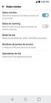 Configurar el equipo para navegar en modo de red LTE - LG G6 - Passo 5