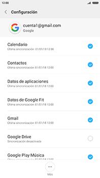 Sincronizar contactos con una cuenta Gmail - Xiaomi Redmi Note 4 - Passo 8