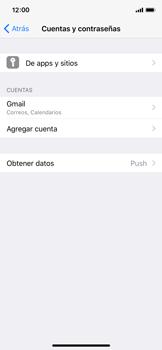 Sincronizar contactos con una cuenta Gmail - Apple iPhone X - Passo 4