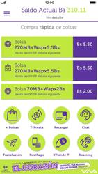 Menú General - iOS VIVA APP - Passo 12