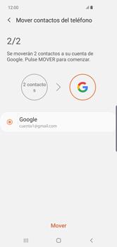 Sincronizar contactos con una cuenta Gmail - Samsung Galaxy S10+ - Passo 8
