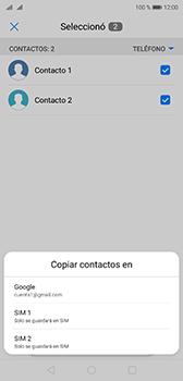 Sincronizar contactos con una cuenta Gmail - Huawei P20 - Passo 9