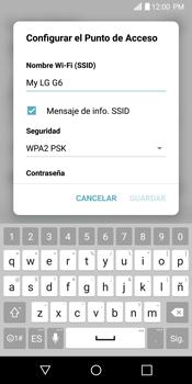 Configurar para compartir el uso de internet - LG G6 - Passo 6