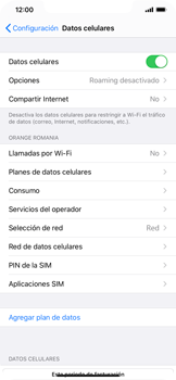 Configurar el equipo para navegar en modo de red LTE - Apple iPhone 11 - Passo 4