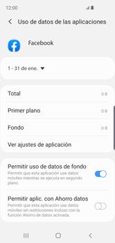 Verificar el uso de datos por apps - Samsung Galaxy S10e - Passo 8