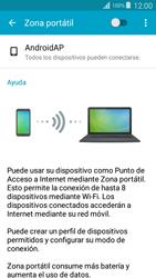 Configurar para compartir el uso de internet - Samsung Grand Prime - Passo 5