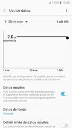 Verificar el uso de datos por apps - Samsung Galaxy A3 2017 (A320) - Passo 7