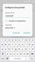 Configurar para compartir el uso de internet - Samsung Galaxy A5 2017 (A520) - Passo 9