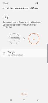 Sincronizar contactos con una cuenta Gmail - Samsung Galaxy S10+ - Passo 7