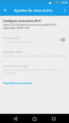 Configurar para compartir el uso de internet - Sony Xperia Z5 Compact - Passo 6