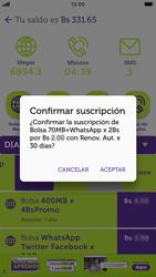 Suscripción y desuscripción de una bolsa de MB - iOS VIVA APP - Passo 7