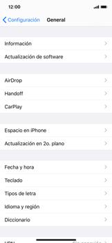 Verificar el uso de datos por apps - Apple iPhone X - Passo 6