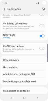 Configurar para compartir el uso de internet - Samsung Galaxy S10e - Passo 5