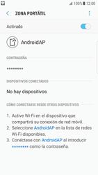 Configurar para compartir el uso de internet - Samsung Galaxy S7 Edge (G935) - Passo 12